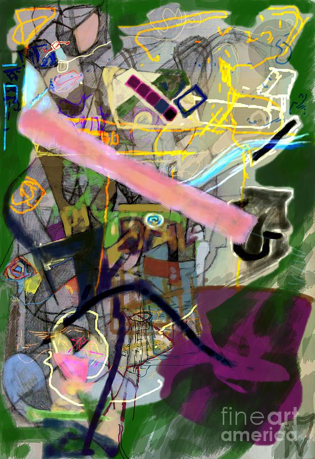 Torah Digital Art - Finding Meaning Despite Appearances 2h by David Baruch Wolk