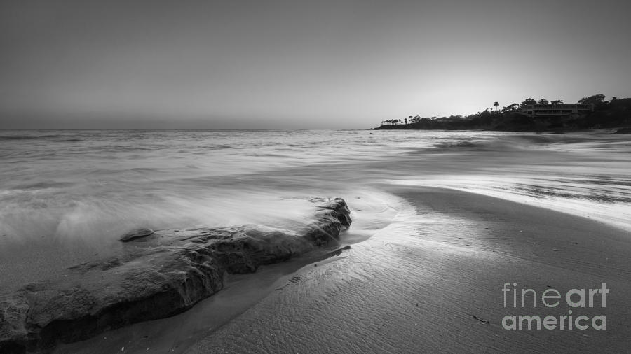 Finding Serenity Bw Photograph
