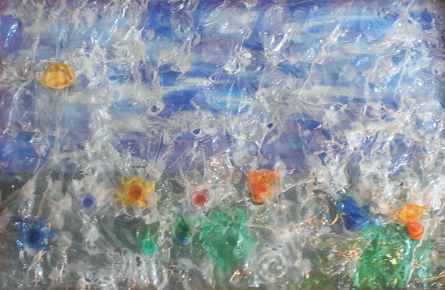 Finestra Su Eco Giardino Painting
