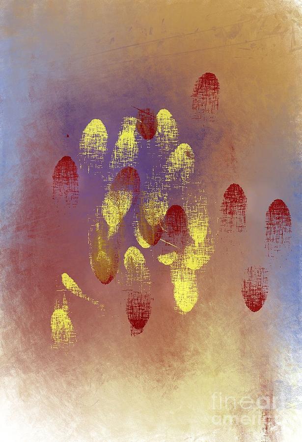Fingerprints Digital Art