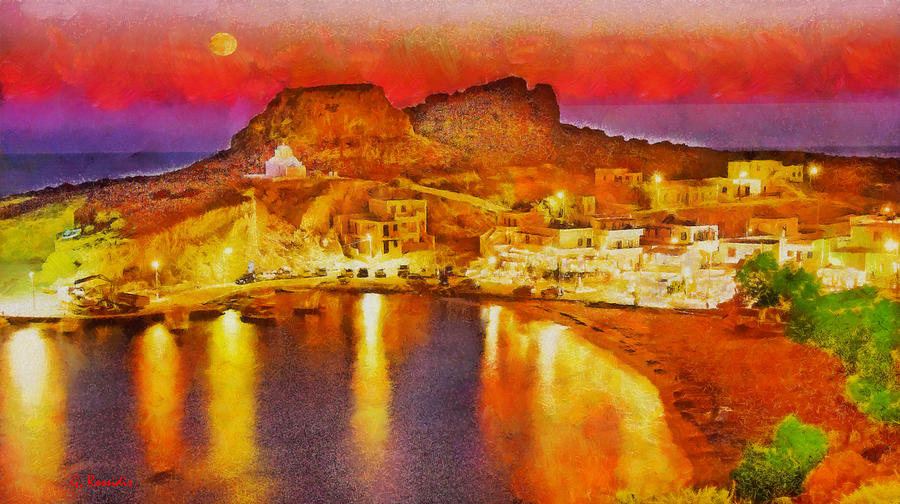 Finiki Karpathos Painting