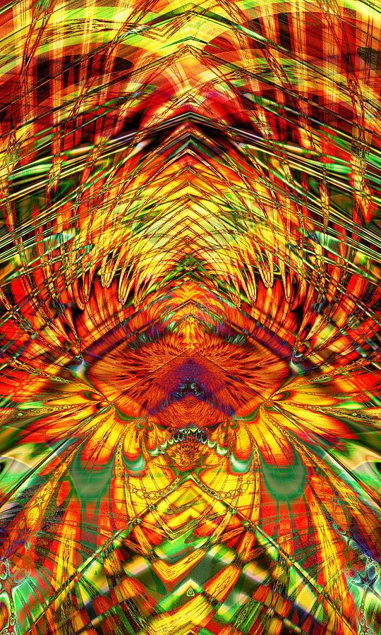 Fire In The Sky Digital Art