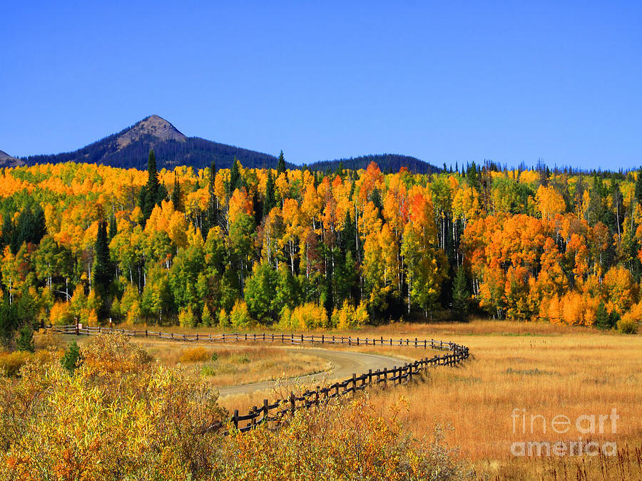 Fire On The Mountain Photograph  - Fire On The Mountain Fine Art Print