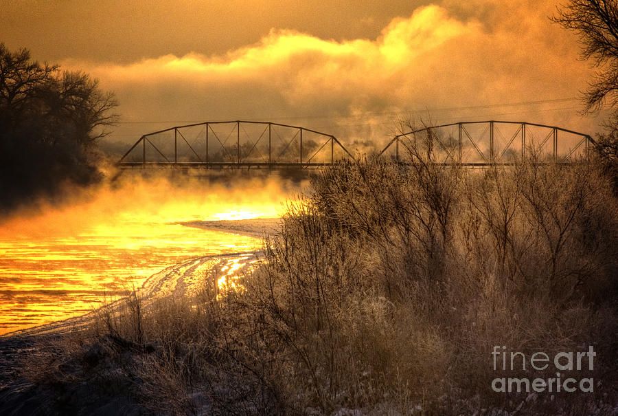 Fire Water Photograph  - Fire Water Fine Art Print