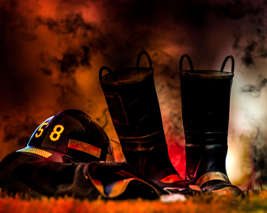 Firefighter Photograph  - Firefighter Fine Art Print