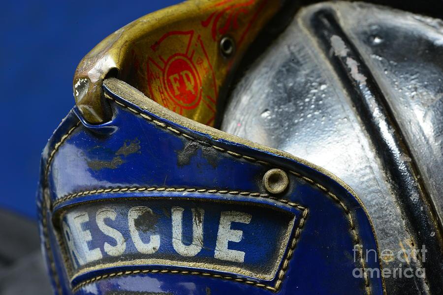 Fireman Rescue Photograph
