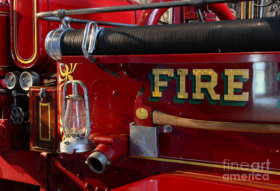 Fireman - The Fire Axe Photograph