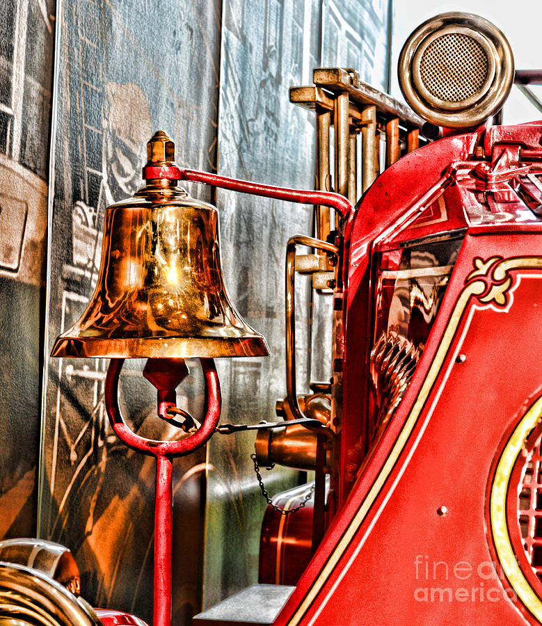 Fireman - The Fire Bell Photograph
