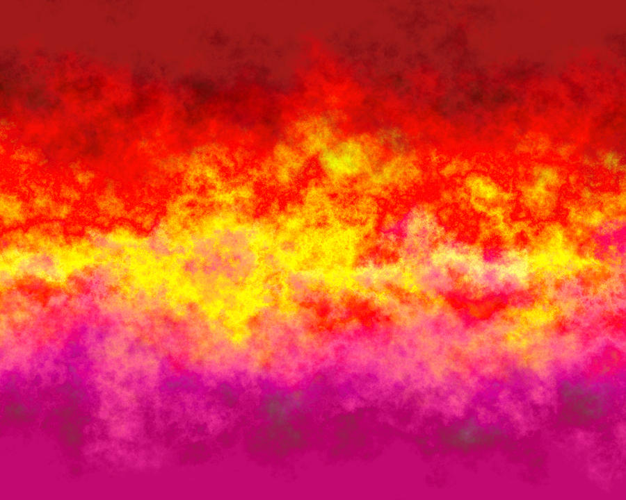 Abstract Digital Art - Firestarter by Wendy J St Christopher