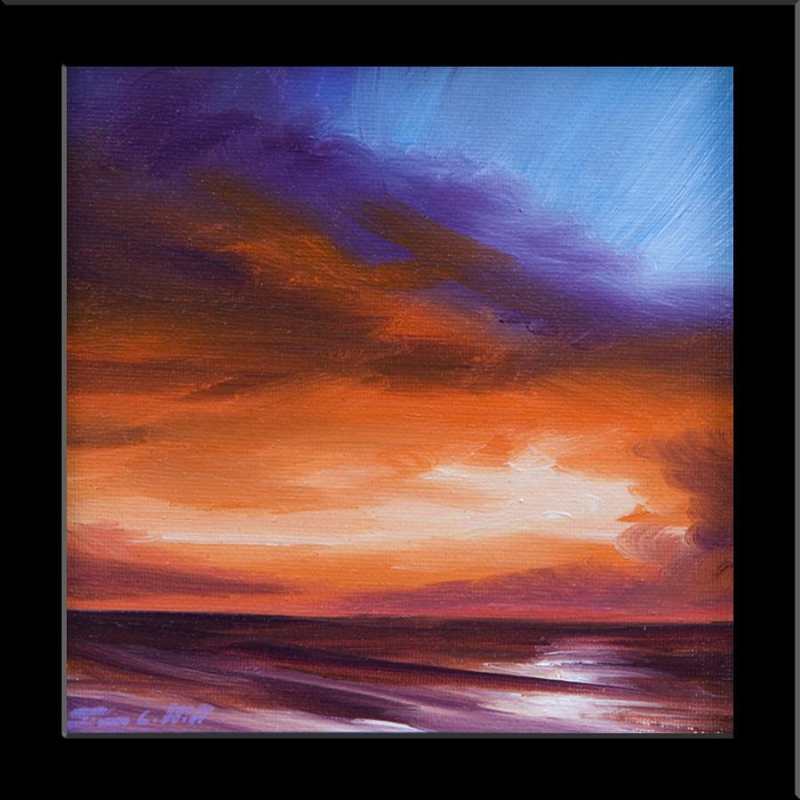 Firesun Sky Painting