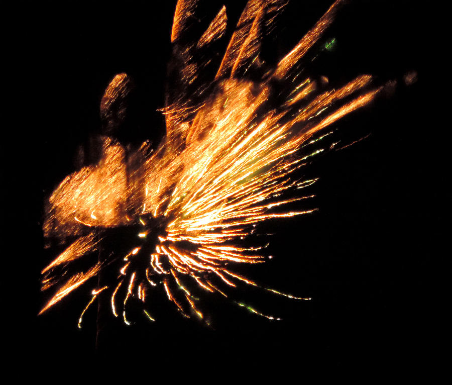 Fireworks Photograph - Fireworks 2 by Stephanie Kendall