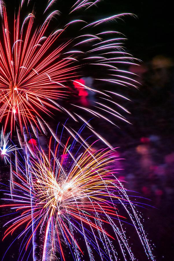 Fireworks 2008 Series 3 Photograph