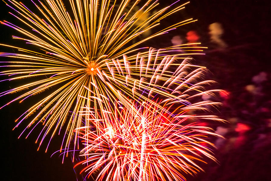 Fireworks 2008 Series 5 Photograph