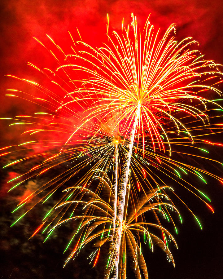 Fireworks 2011 Series 1 Photograph