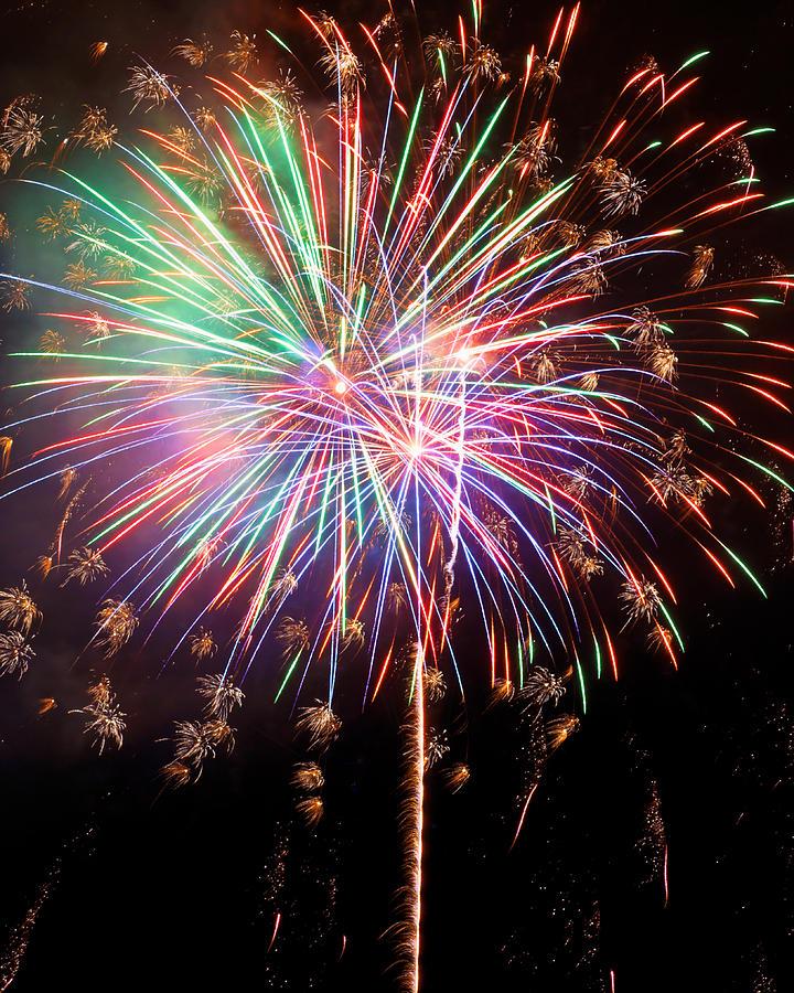 Fireworks 2011 Series 2 Photograph