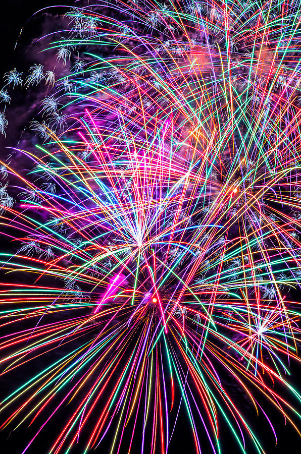 Fireworks 2011 Series 6 Photograph