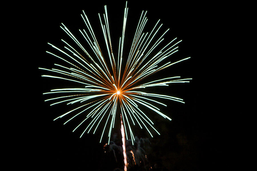 Fireworks Bursts Colors And Shapes 2 Photograph