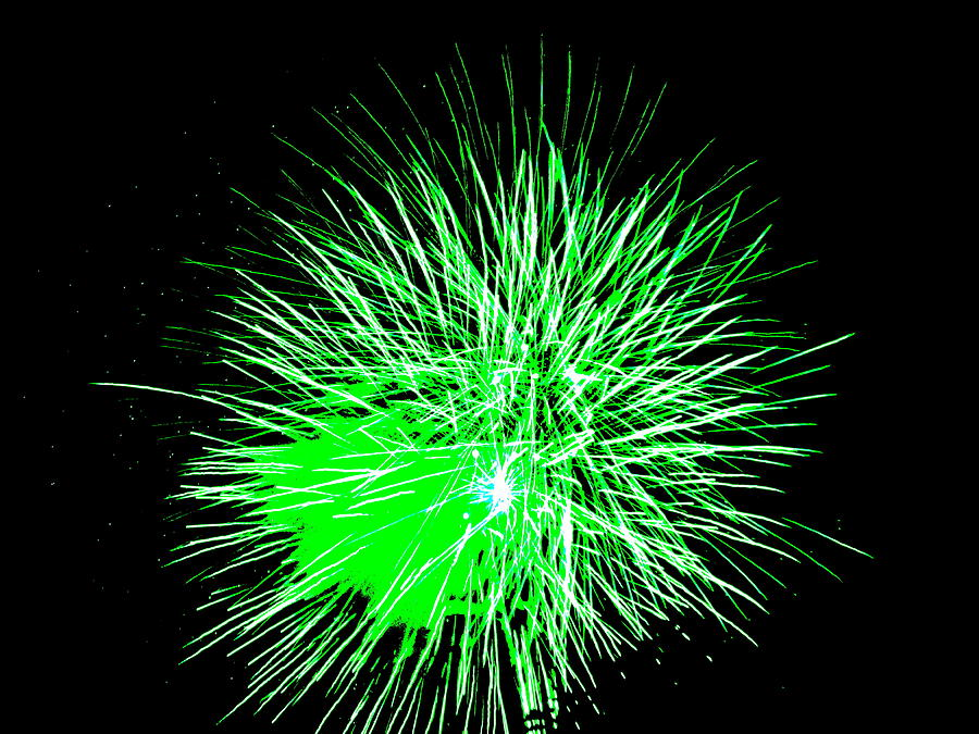 Pin Large Green Fireworks Clip Art Vector Online Royalty ...