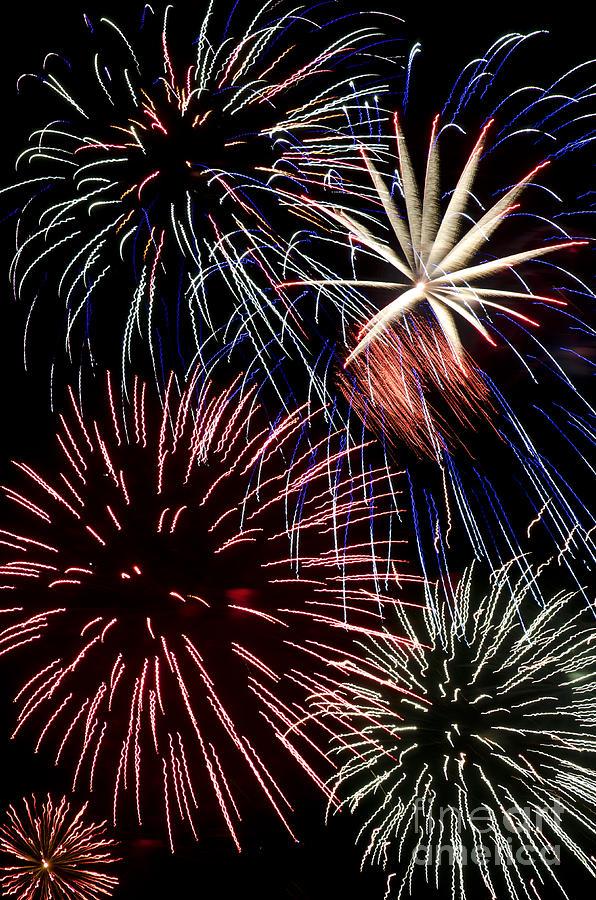 Fireworks Spectacular Photograph