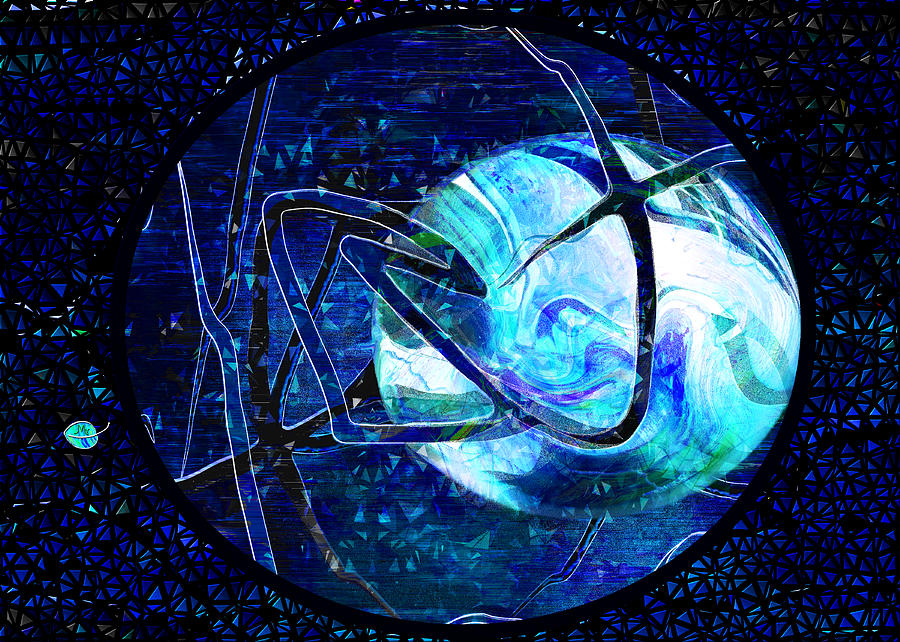 Firmament Cracked - #8 Rear Window Digital Art