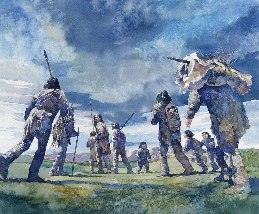 First Americans Painting