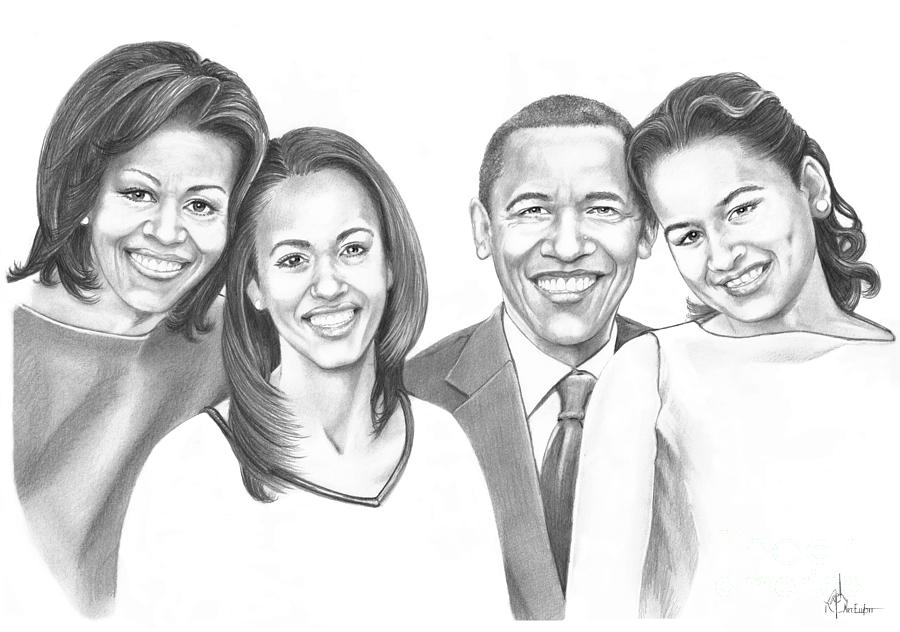 First-family 2013 Drawing