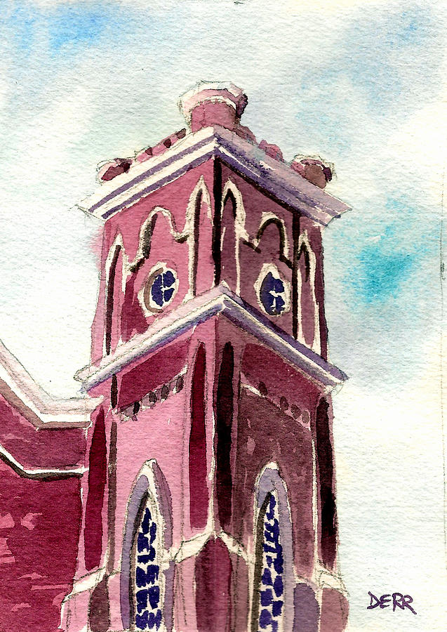 First Presbyterian Church  Painting