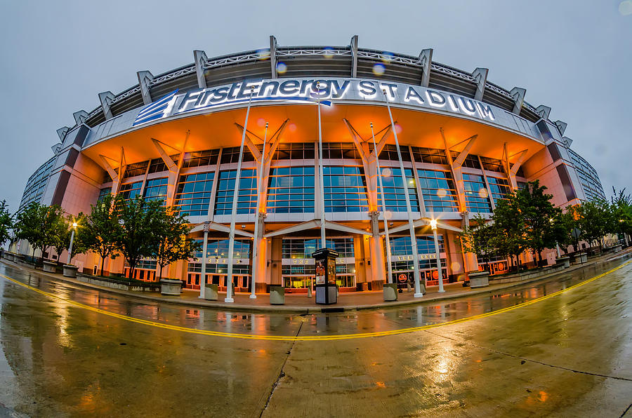 Firstenergy Stadium Exterior View In Photograph By Alex