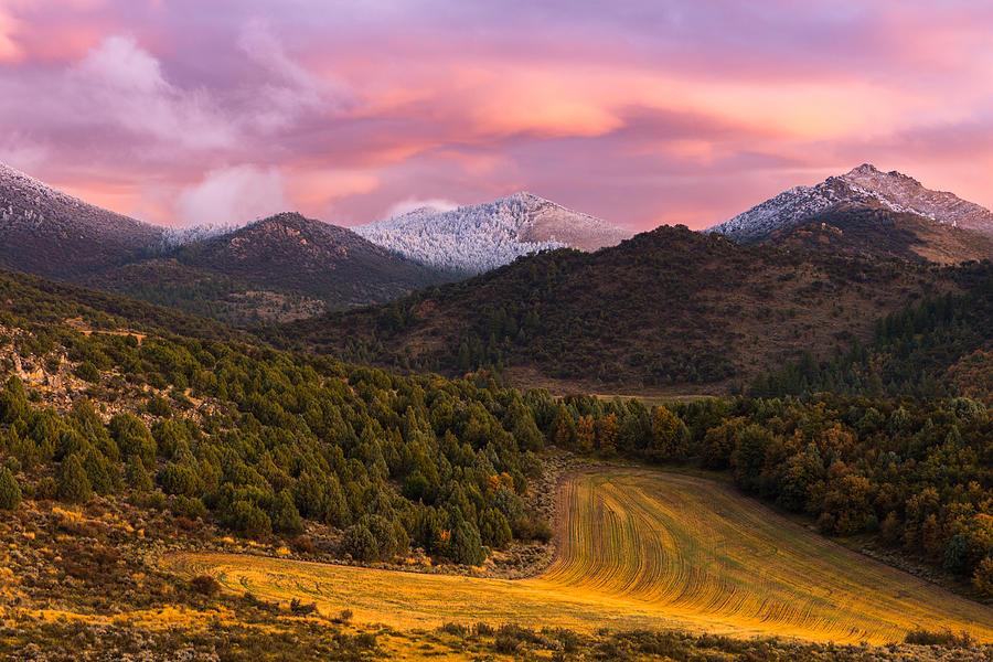 Fish Creek Pass Sunset Photograph