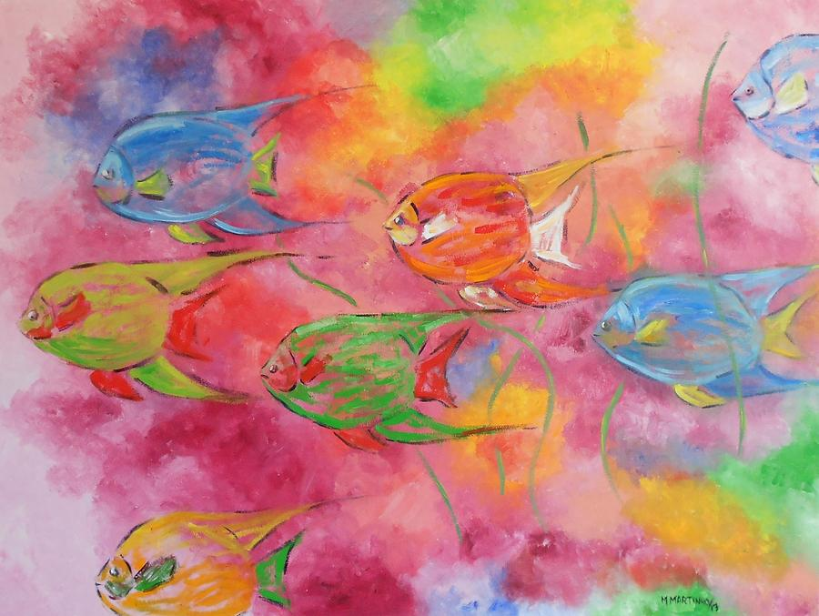 Fish Painting  - Fish Fine Art Print