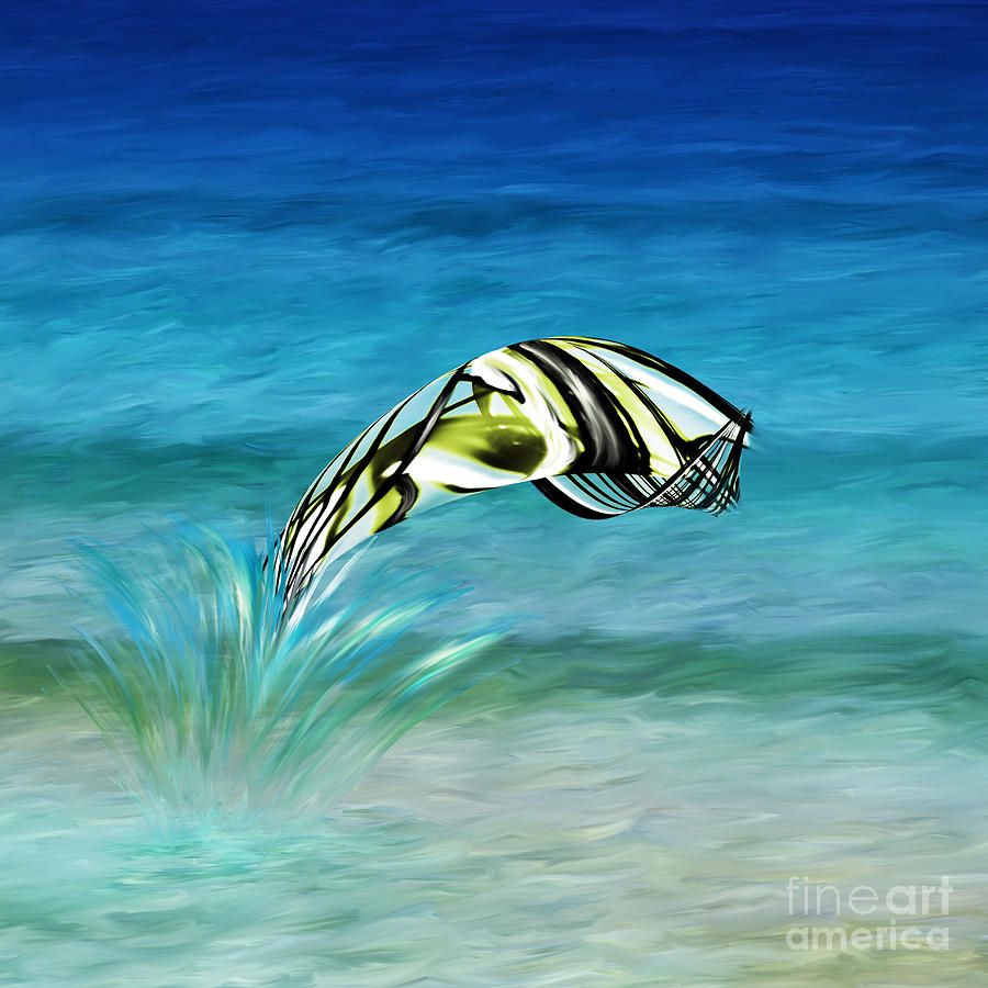 Fish out of water painting by kathryn l novak for Fish out of water watercolor