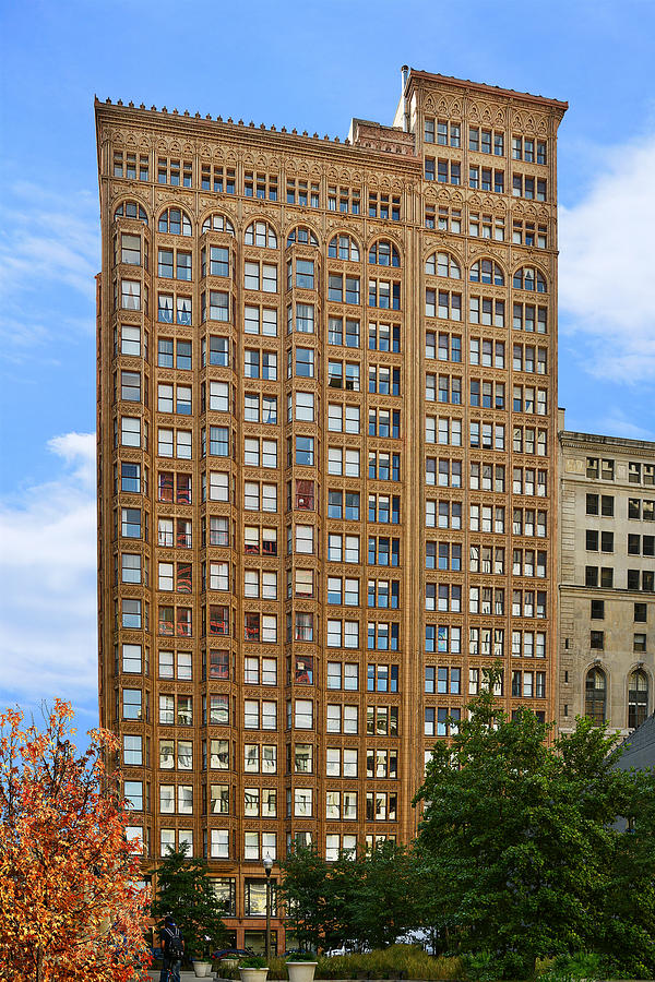 Fisher Building - A Neo-gothic Chicago Landmark Photograph