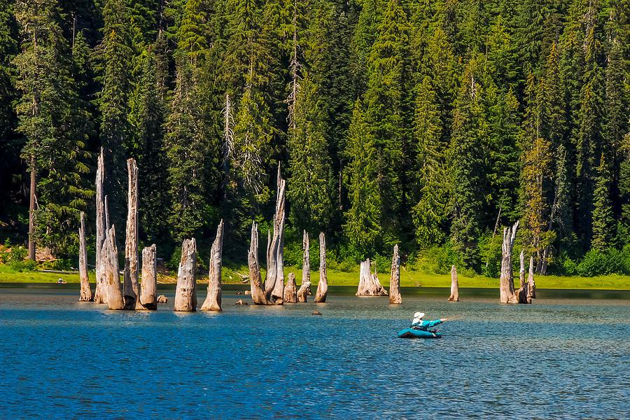 Goose Lake Wa Fisherman - Goose Lake