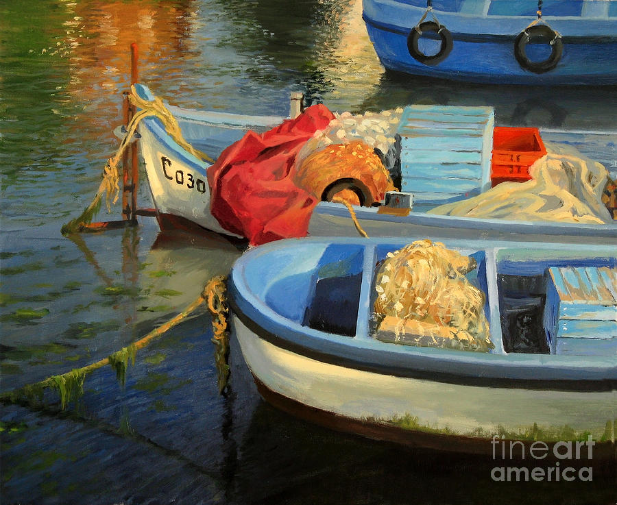 Fishermans Etude Painting  - Fishermans Etude Fine Art Print