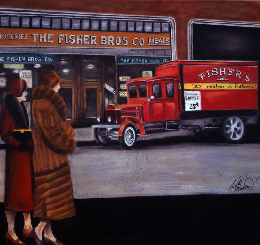 Fishers Store Pastel