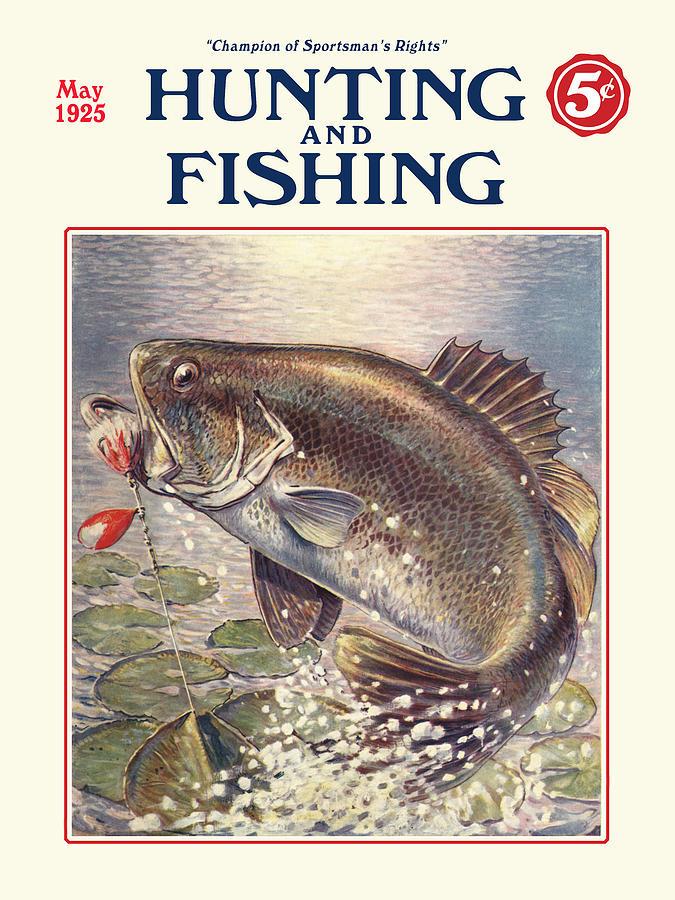 fishing and hunting magazine digital art by gary grayson ForHunting And Fishing Magazine