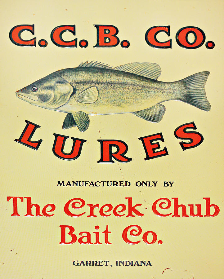 Fishing Bait Advertising Sign Photograph