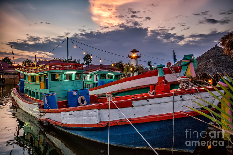 Hdr Photograph - Fishing Boat by Adrian Evans