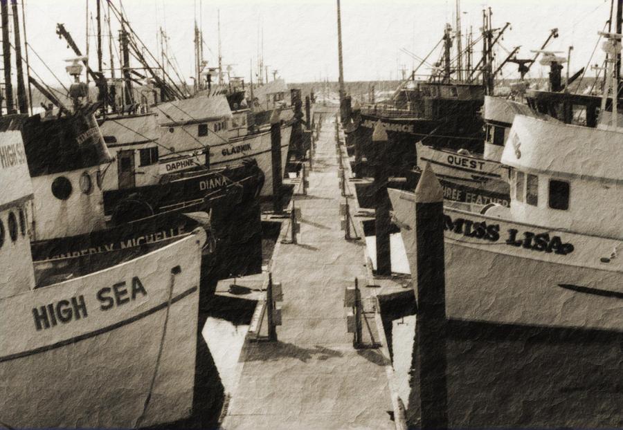Fishing Boats Photograph