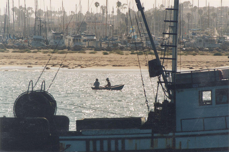 Fishing Boats Santa Barbara Photograph By Rebecca St George