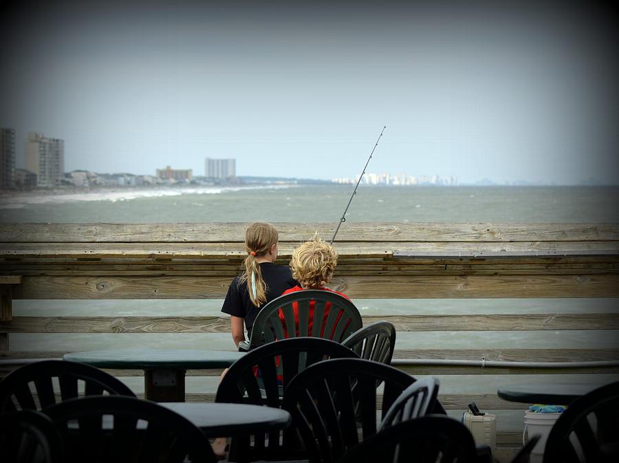 Fishing Buddies Photograph