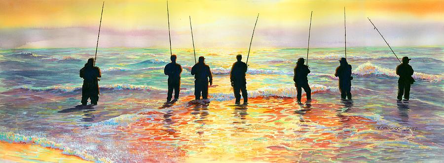 Fishing Line Painting