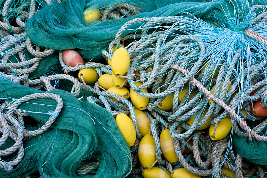 Fishing Nets Photograph  - Fishing Nets Fine Art Print