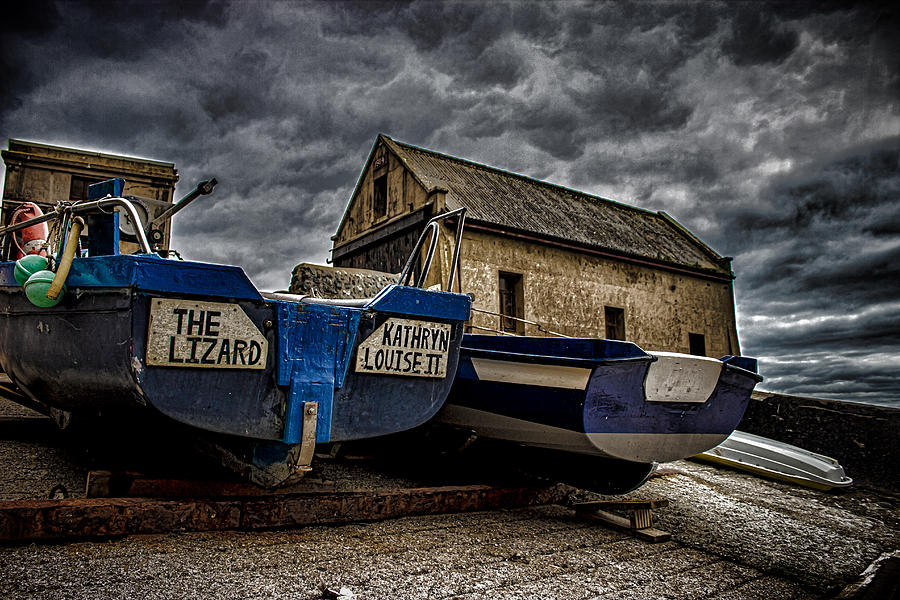 Thelizard Photograph - Fishing Off The Lizard by Martin Newman