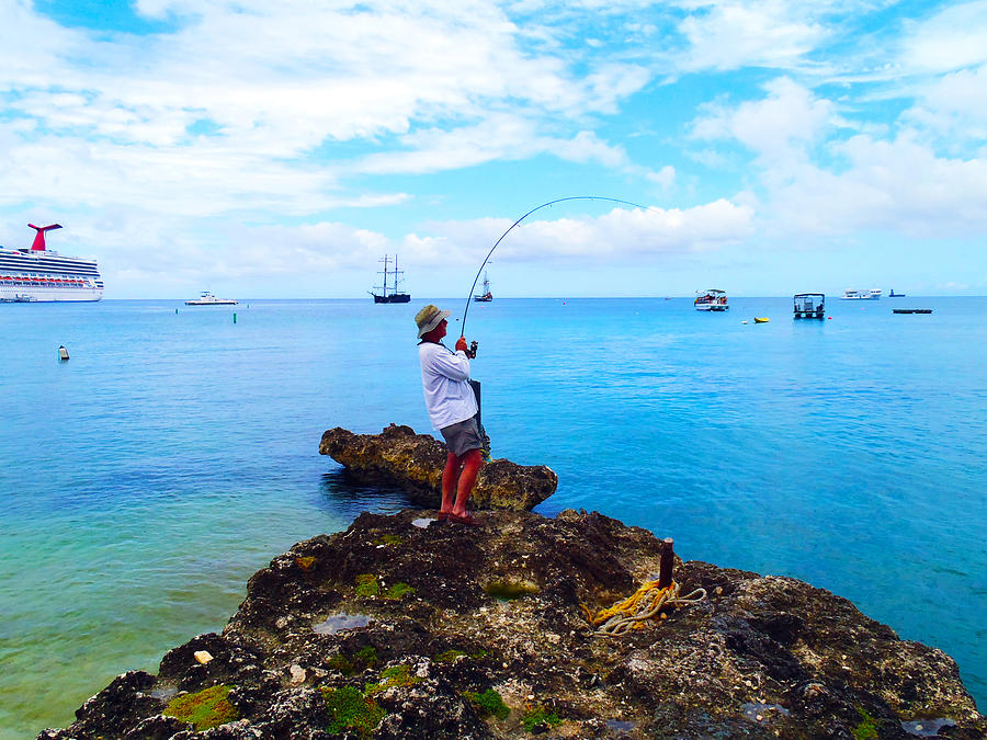 Fishing Paradise Photograph  - Fishing Paradise Fine Art Print