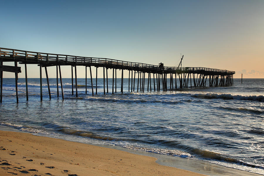 Fishing Pier I Photograph