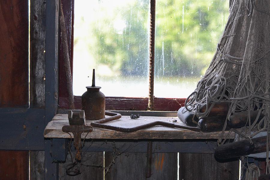 Michigan Photograph - Fishing Shack 2 by Bill Mock