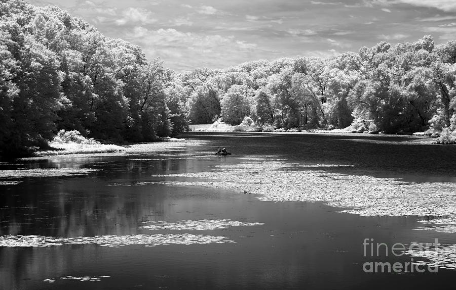 Fishing the raritan river infrared photograph for Raritan river fishing
