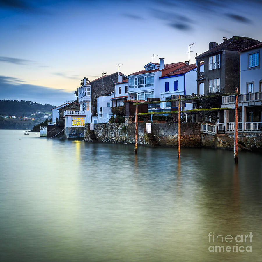 Fishing Town Of Redes Galicia Spain Photograph By Pablo