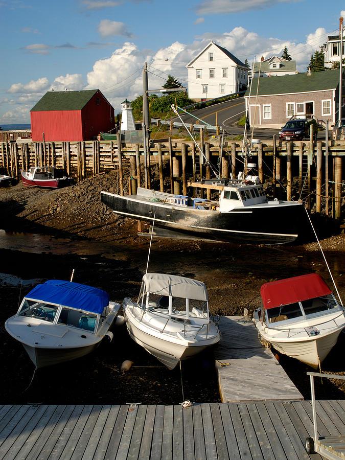 Fishing Village Photograph